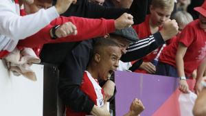 Tiquinho jublar för HIFK.