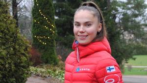 Porträttbild på Karita Auvinen.