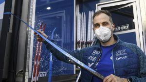 Med Martin Norrgård som servicechef gick finändarna på bra skidor i skid-VM i de flesta tävlingarna.