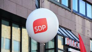 SDP:s ballong.