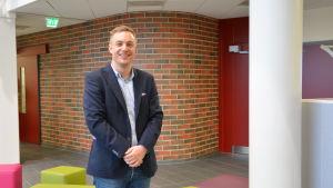 Nicke Wulff blir rektor för Braheskolan och Cygnaeus skola.
