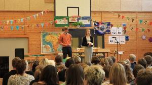 Skärgårdshavets skola i Korpo firar 40 års jubileum