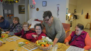 Dagverksamheten för seniorer i Pojo, Sophie hemmet