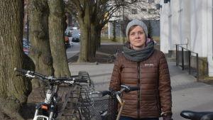 Sandra Nestorova är ny viceordförande i Cykelförbundet.