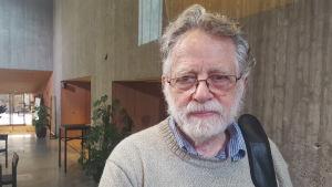Professor Edgardo Lander, expert på Venezuela.