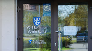 Ingången till Vörå kommungård