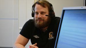 Jan Malm i Sportmåndag 9.3.2015