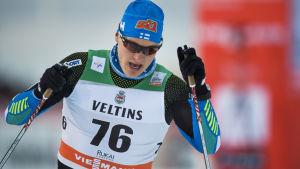 Toni Ketelä under världscupsäsongen 2015-16.