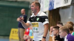 GrIFK:s chefstränare Kaj Hagman.