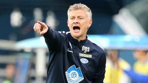 Ole Gunnar Solskjär är nu tränare för Molde FK.