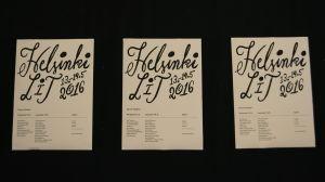 Tre Helsinki Lit-afficher