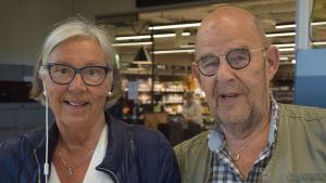 Mimmi Hofmeister och Peter Wikström