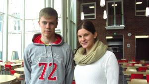 Janne Ylinen och Janina Viitanen