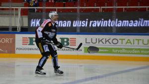Henrik Tallinder i TPS-uniform, november 2015.