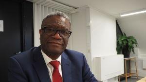Nobels fredspristagare år 2018 Denis Mukwege.