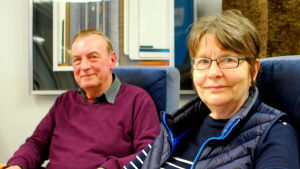 Lorenz Uthardt och Agneta Glad