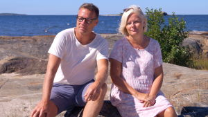 Mats Strand och Monica Koskinen.