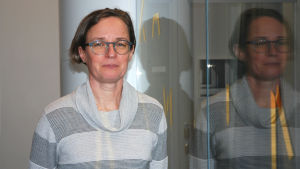 Riikka Aaltonen är den enda gruvexperter vid Arbets- och näringsministeriet