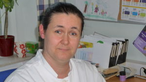 Profilbild på Henna Karvonen, näringsterapeut på Raseborgs sjukhus.