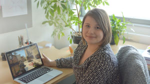 Matilda Ståhl, doktorand inom pedagogiska vetenskaper vid Åbo Akademi
