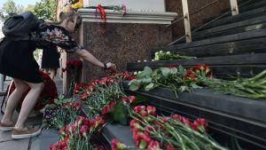 Terrorattacken i Barcelona.