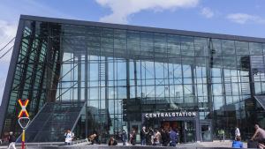 Malmö centralstation.