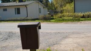 Agneta Spets postlåda i Hangö