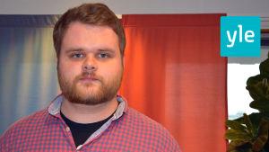 Mattias Simonsen sportredaktör för Svenska Yle.