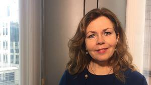 Den svenska liberala EU-parlamentarikern Cecilia Wikström.