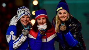 Prisutdelningen, tremilen OS 2018.