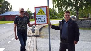 Tore Stenmark och Niclas Sjöskog.