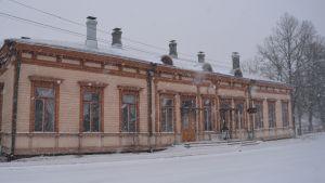 Borgå gamla järnvägsstation 12.01.17