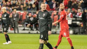 Matchen mot Toronto blev Wayne Rooneys sista i MLS.