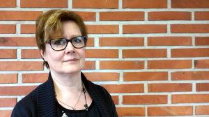 Carola Wiksten är rektor för Strömborgska skolan i Borgå.