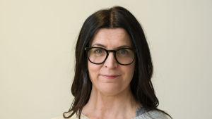 Kandidat Micaela Röman, obunden SFP.