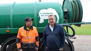 Thomas Lindqvist och Caj Degerholm