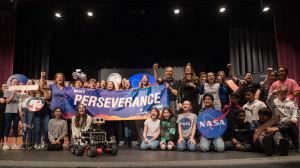 Nasa-teamet bakom Perseverance.
