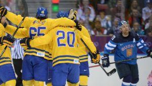 Finland-Sverige, OS 2014