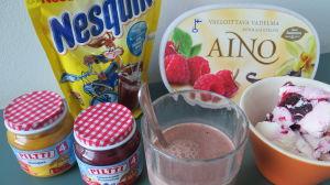 Nestlen Suomessa myytäviä tuotteita