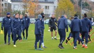 Shefki Kuqi, Inters träningar, 25.10.2016