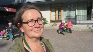 Yvonne Althoff är närvårdare på Rasebo daghem i Ekenäs.
