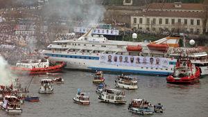 Mavi Marmara återvänder till Turkiet