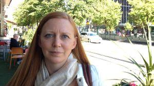 Åse Fagerlund forskar kring alkoholrelaterade fosterskador.