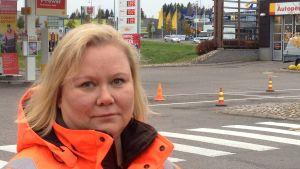 Paula Puotiniemi, nätchef vid bensinstationskedjan St1