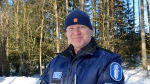 Överkonstapel Kristian Vidjeskog.