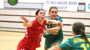 Linda Cainberg och Valeriya Kirillova.