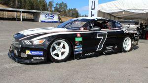 Emma Kimiläinens V8 Thunder Ford Mustang.