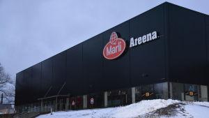 Ishallen i Kuppis i Åbo.