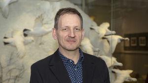 Luonnontieteellisen keskusmuseon johtaja Leif Schulman plk