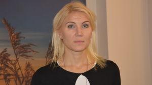 Marina Kinnunen är direktör för Vasa sjukvårdsdistrikt.